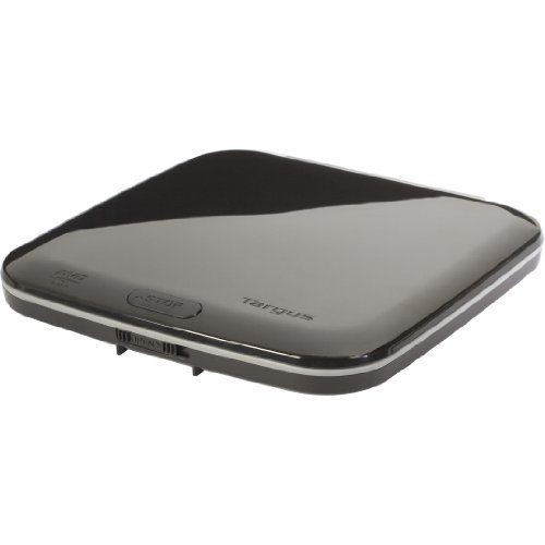 Targus DVD-ROM External USB 2.0 Drive ADV01US (Piano Black)