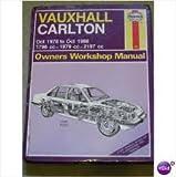 Vauxhall Carlton 1978-86 Owner's Workshop Manual