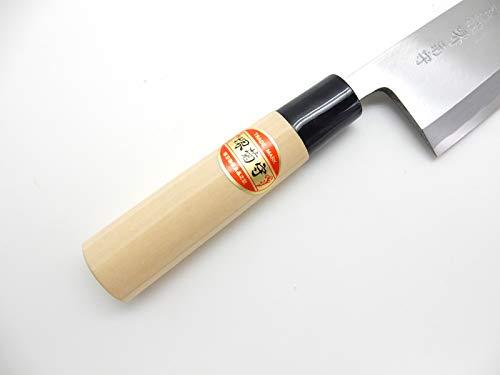 SAKAI KIKUMORI Yasuki White Steel,Kasumi Professional Deba Knife (165mm/6.5'') by SAKAI KIKUMORI (Image #3)