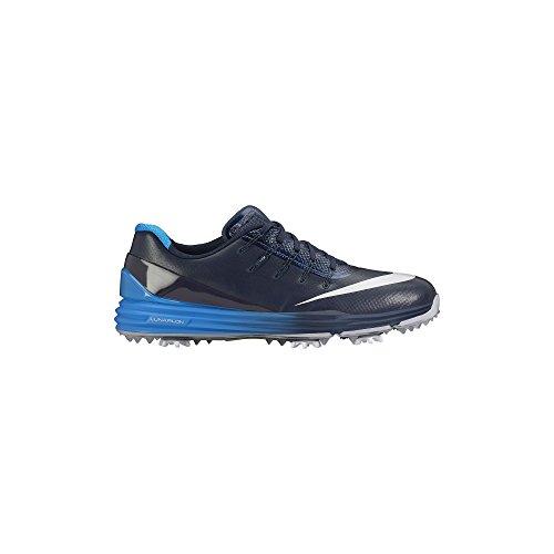 NIKE Lunar Control 4 Golf Shoes 2016 Navy/Blue/White Medium 13 by NIKE