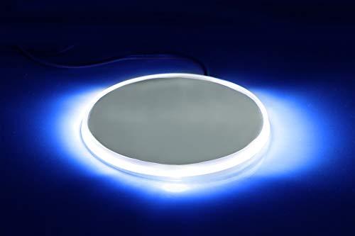 Blue LED Illuminated Emblem Background Lighting Kit For BMW Front Hood or Rear Trunk 3.25-Inch 82mm Roundel Emblem iJDMTOY 1