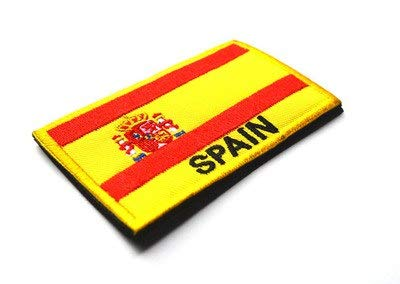 Virtue Patch 3D Embroidery Cloth Armband Spain Flag Sticker