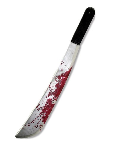 Friday The 13th Men's Costume Accessory Jason Voorhee Machete Style One Size Multicolor