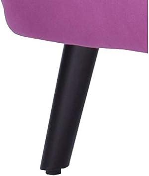 MATHI DESIGN Floride Poltrona retr/ò in velluto bicolore viola