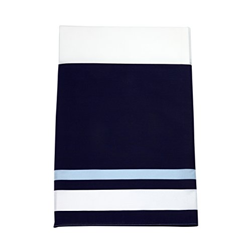 Sadie & Scout Boy Crib Skirt Stripes Crib Skirt