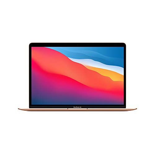 2020 Apple MacBook Air with Apple M1 Chip (13-inch, 8GB RAM, 256GB SSD Storage) – Gold