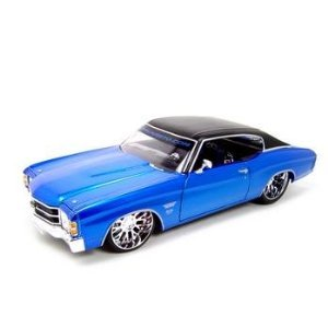 lle SS 454 Coupe Blue 1:18 Custom (1971 Chevelle Ss 454)