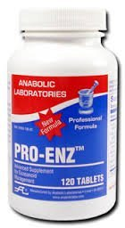 Anabolic Laboratories, Pro-Enz 120 tablets