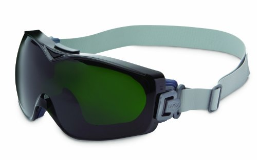 Uvex Stealth OTG Safety Goggles with Anti-Fog/Anti-Scratch Coating (S3975D)