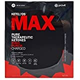 KETO//OS MAX Maui Punch CHARGED, Provides Sharp Energy Boost, Promotes Weight Loss and Burn Fats through Ketosis, 20 packets