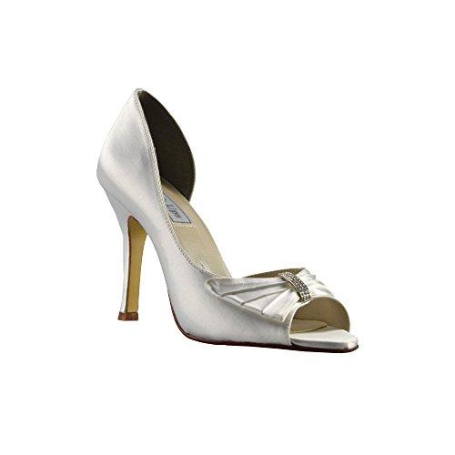 Touch-ups Dames Leren Loafer Flats Diamante
