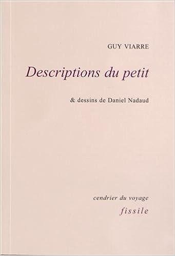 En ligne téléchargement Descriptions du petit pdf