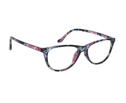 Peter Jones Stylish Muticolored Cateye Optical Frame
