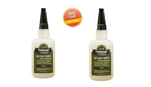 Franklin International 6221 Fast Bond Thick Glue, 2-Ounce, 2 Pack