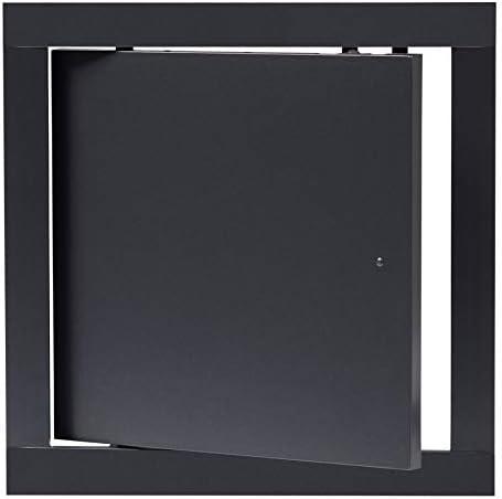 acier bross/é avec cadre encastr/é, 200/x 300/mm /Couvercle pour bo/îte dinspection Haco/