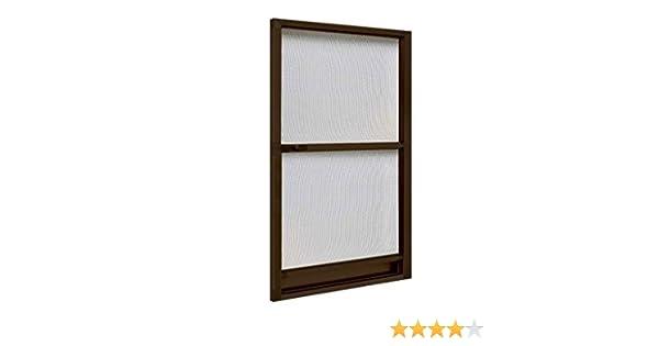 IRS 75720. Mosquitera para puerta P/puerta, 100 x 240 cm), color marrón: Amazon.es: Bricolaje y herramientas