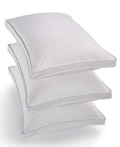 Hotel Collection Primaloft Silver Series High-Loft Standard Queen Pillow - Soft Support for Stomach Sleepers