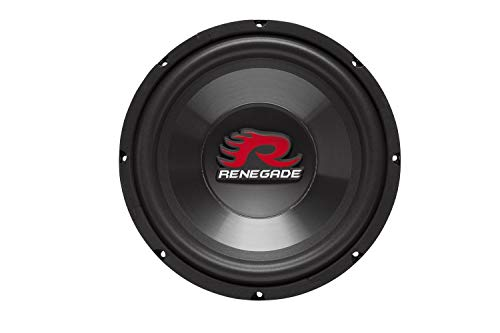 Renegade RXW1000 10-Inch SVC 4 Ohm Subwoofer Renegade Mobile Audio