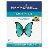 (3 Pack Value Bundle) HAM104604 Laser Print Office Paper, 98 Brightness, 24lb, 8-1/2 x 11, White, 500 Sheets/Rm