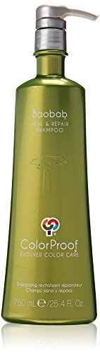 ColorProof Baobab Heal & Repair Shampoo for Unisex, 25.4 Fl Oz by ColorProof Evolved Color Care