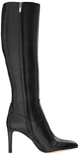 Black Calf Boots Sam Olencia Edelman Women's Mid nvBqF