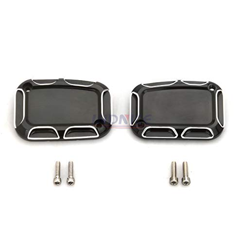 - Motorcycle Electra Glide Left/right Front Brake master Cylinder Cover for harley roadking street glide Vrod models 07-17