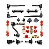 Chevrolet Camaro Red Polyurethane Front End Suspension Master Rebuild Kit ()