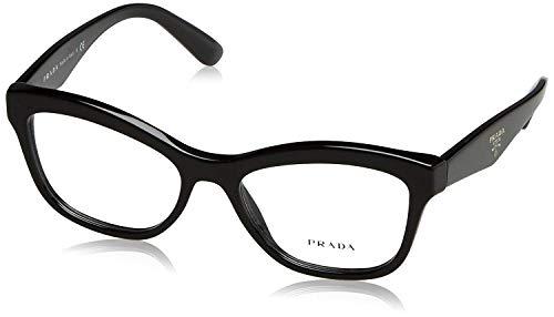 Prada PR29RV Eyeglass Frames 1AB1O1-54 - Black ()