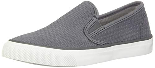 Seaside Emboss Sneaker Top Grey Sperry sider Women's S4xtwpTq
