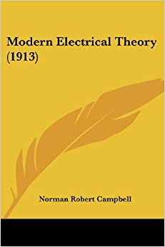 Book Modern Electrical Theory (1913)