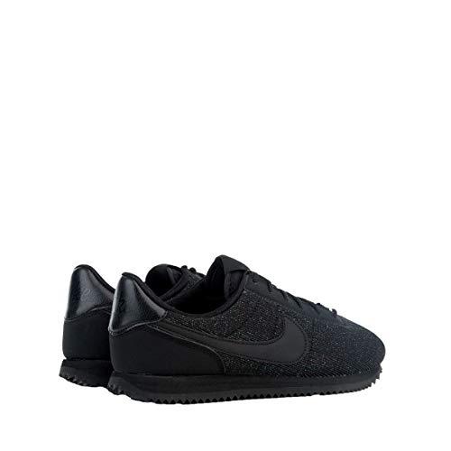 001 Femme gs black Txt Nike Noir Basic Basses Se Sneakers black Cortez SwqP0xf