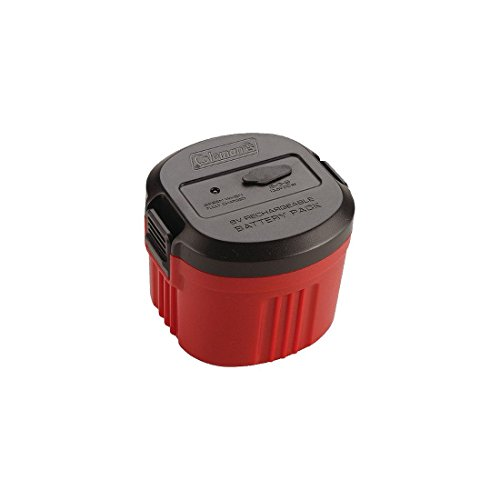 6v Ac Rechargeable (Coleman CPX6 6V Rechargable Power Cartridge Red 20130916)
