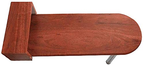 Mesa de hoja abatible montada en la pared con una sola pata de ...