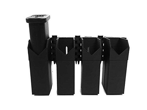 MCE Digital Armory eAMP Patriot - Glock (17, 19, 22, 23, 26, 31, 35, 37) Quad Mag Pouch - MagP0051-D