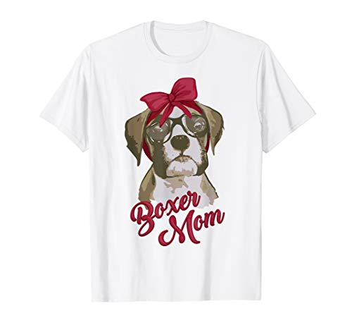 Classic Breed T-shirt Boxer - Boxer Mom Funny Shirt | Cool I Heart Boxer Breed Tshirt Gift