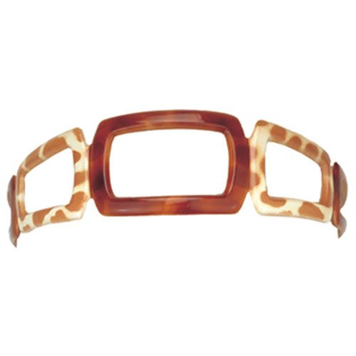Camila Paris - MP41, French woman Hair Accessories, Headband. Strong and Durable Hair Ornaments. Made in France - Cellulose Acetate