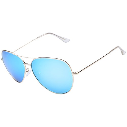 Diamond Candy Men's Aviator Protection Polarized Fashion Sunglasses Goggles - Candy Eyewear