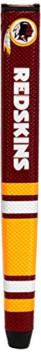 (Team Golf NFL Washington Redskins Golf Putter Grip with Removable Gel Top Ball Marker, Durable Wide Grip & Easy to Control)