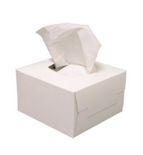 VisionAid 1WT730 K-Lens-M Lint Free Tissue Boxes, 4 1/4'' x 8 1/2'', 300 Tissues per Pack (Pack of 60) by VisionAid