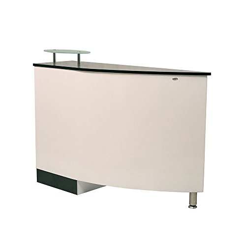 BEAUTY SALON RECEPTION DESK - ARGENTO
