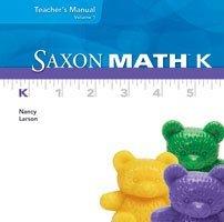 Saxon Math K: Individual Student Unit