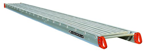 Louisville Ladder 24-Foot Aluminum Scaffold Plank, 500-Pound Capacity, P21224