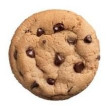 Sweet Discovery Chocolate Chip Cookie Dough, 1.33 Ounce -- 270 per case.