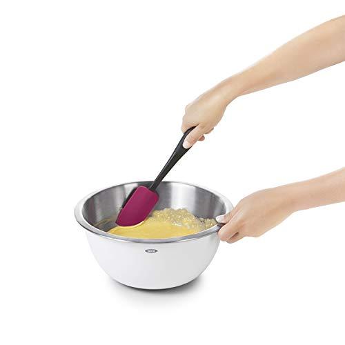 Green Kitchen Jeddah: OXO 1238580 Good Grips 3-Piece Silicone Spatula Set, 12