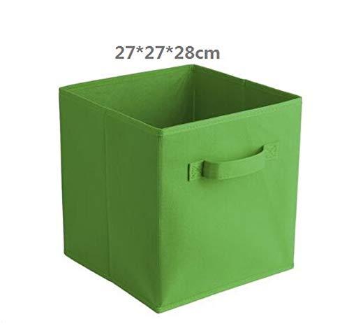 (Folding Non-Woven Fabric Storage Box Closet Cubes Bins,Can Not Wash 9)