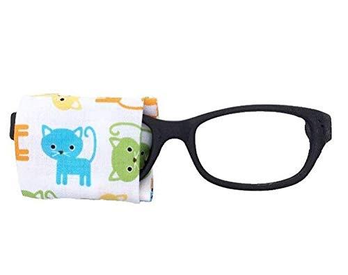 Eye Patch kids glasses - CAT KITTEN - baby child adult eye patch - Vision Lazy eye therapy patch