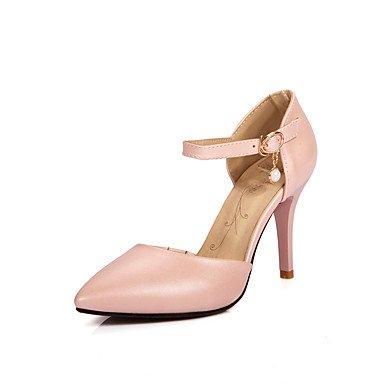 à Soirée Evénement Printemps Habillé Chaussures amp; blushing microfibre Femme Polyuréthane synthétique de Basique Talons PU ggx pink Mariage LvYuan Eté Escarpin CtqUaqw