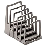 Adjustable File Rack, Five Sections, 8 X 10-3/4 X 11-3/4, Gray By: Avery