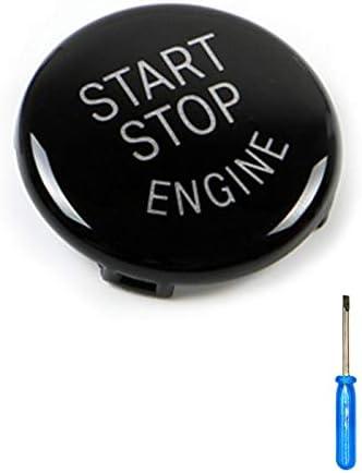 ABS Car Engine Start Stop Switch Button Replace Cover for E60 E70 E71 E90 E92