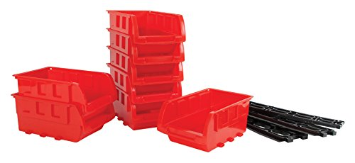 - Performance Tool W5197 8 Piece Small Stackable Storage Trays